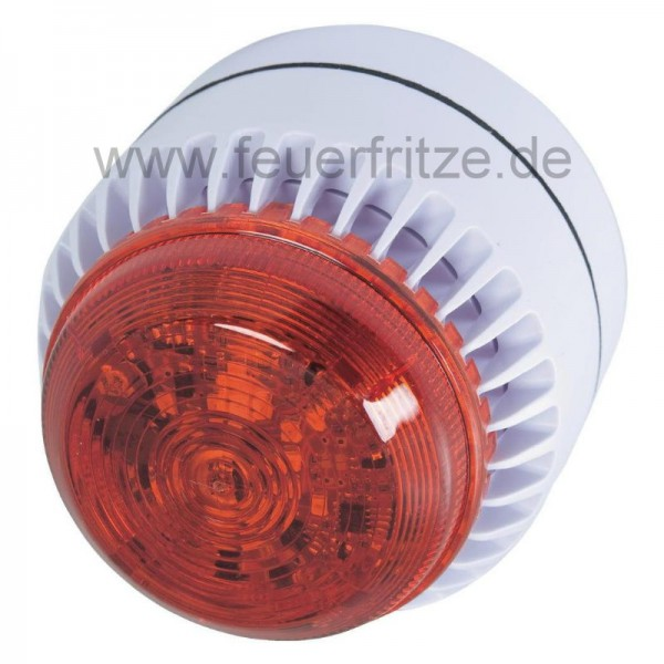 Sirene mit Blitzleuchte 12V DC Diese Sirene mit Blitzleuchte eignet sich als zusätzlicher Alarmgeber für verschiedene Systeme