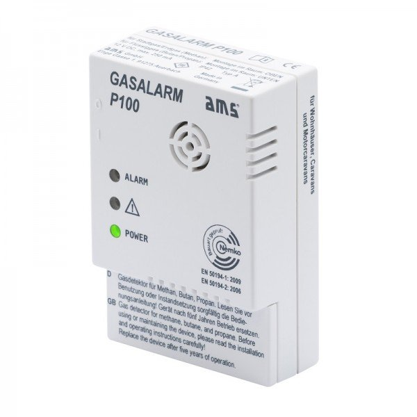 AMS 12V GASALARM P100 GW-09210.00