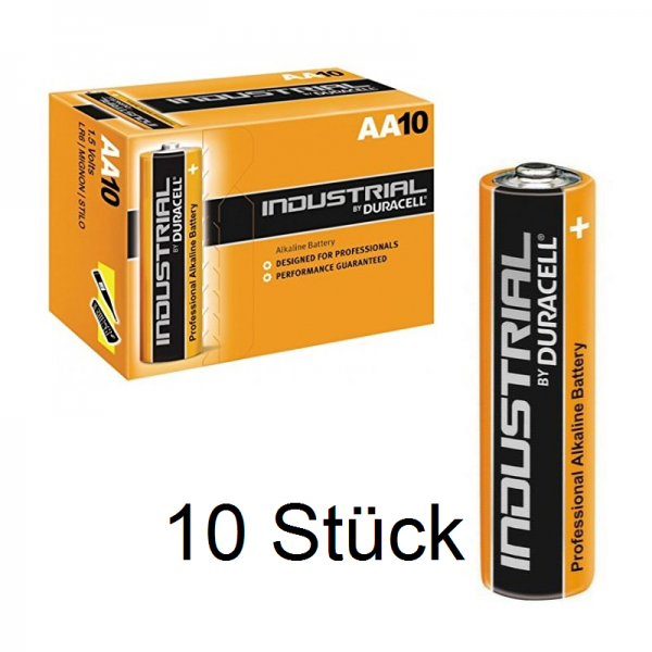 DURACELL Industrial LR6 Mignon AA MN 1500 Alkaline Batterie