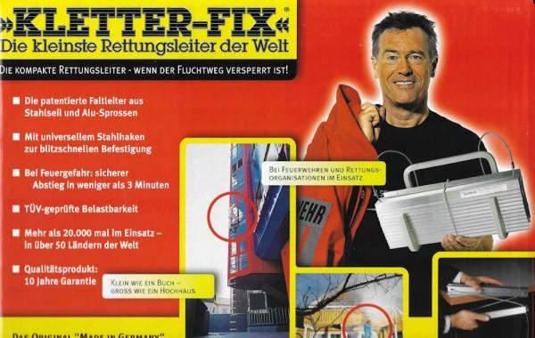 Kletterfix Rettungsleiter KF-Kompakt N12