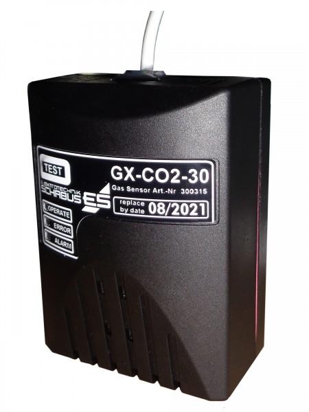 Schabus Gassensor GX-CO2-30 für Getränkeschankanlagen für GAS ALARM GX-A1