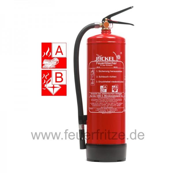 Jockel 6 Liter S 6 LJ BIO 34 Plus Schaum Feuerlöscher