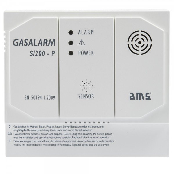 AMS GASALARM S/200-P Ausführung 230V