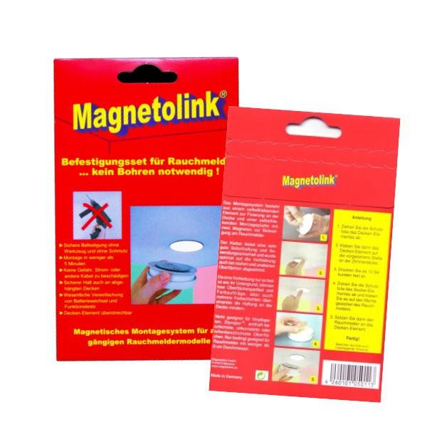 Magnetolink Klebepad für Rauchmelder