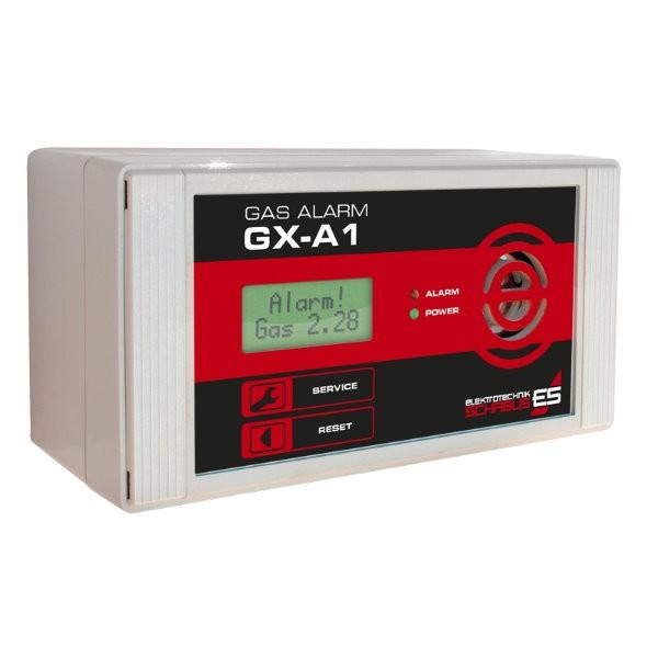 Gasmelder Schabus GAS ALARM GX-A1 mit LCD-Anzeige
