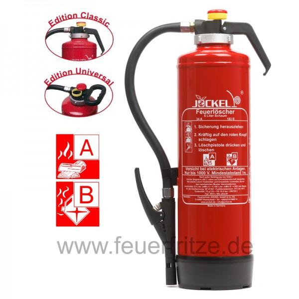 Jockel 6 Liter SN 6 J BIO 34 Plus Schaum Feuerlöscher