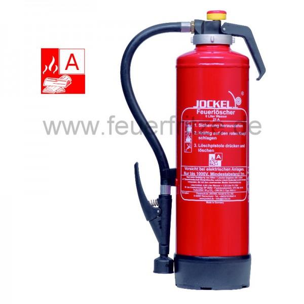 Jockel WF 6 J 21 6 Liter Wasser-Auflade-Feuerlöscher