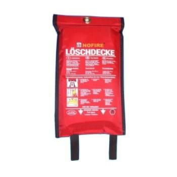 Feuer-Löschdecke NoFire 120x120cm im Polybeutel