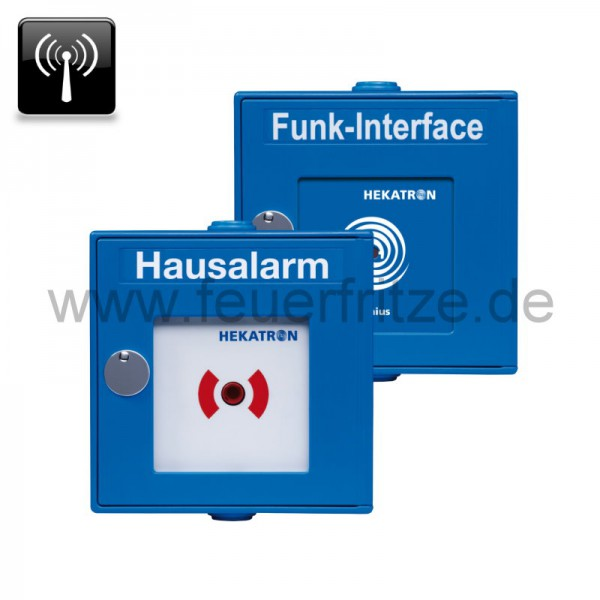 hekatron hausalarm funkhandtaster und funk interface. Black Bedroom Furniture Sets. Home Design Ideas